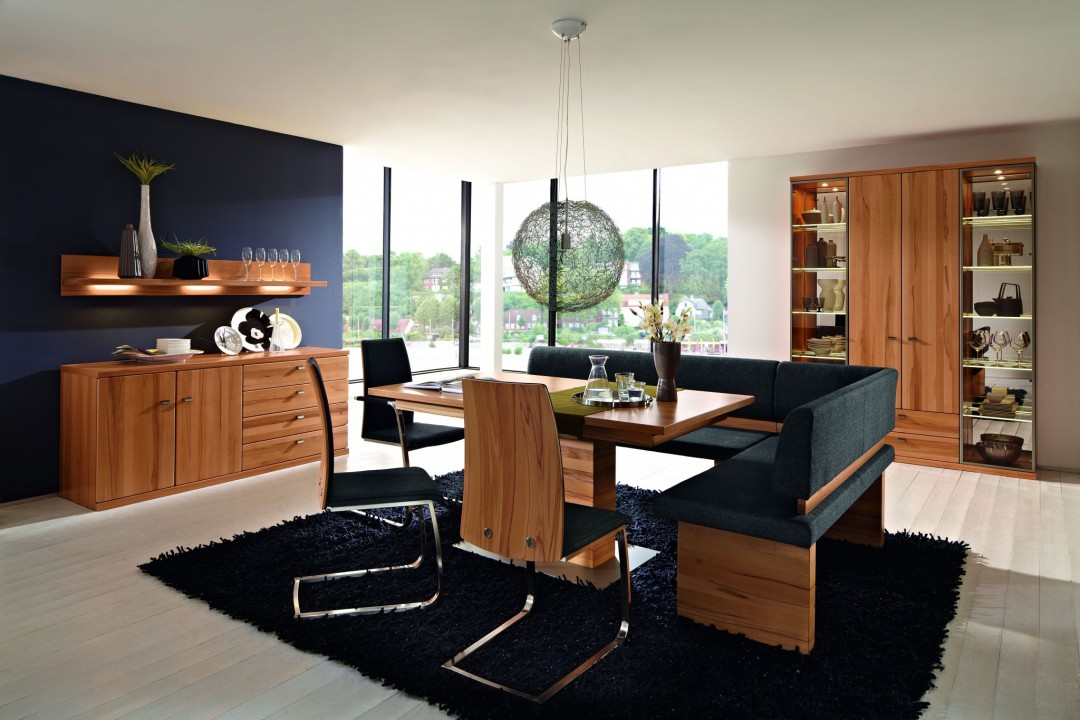 wohnwand cento in kernbuche teilmassiv m bel polt m belhaus. Black Bedroom Furniture Sets. Home Design Ideas