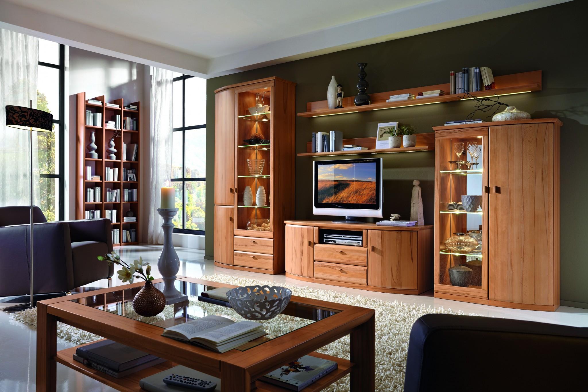 wohnwand ber eck opus in kernbuche teilmassiv ein wahres. Black Bedroom Furniture Sets. Home Design Ideas