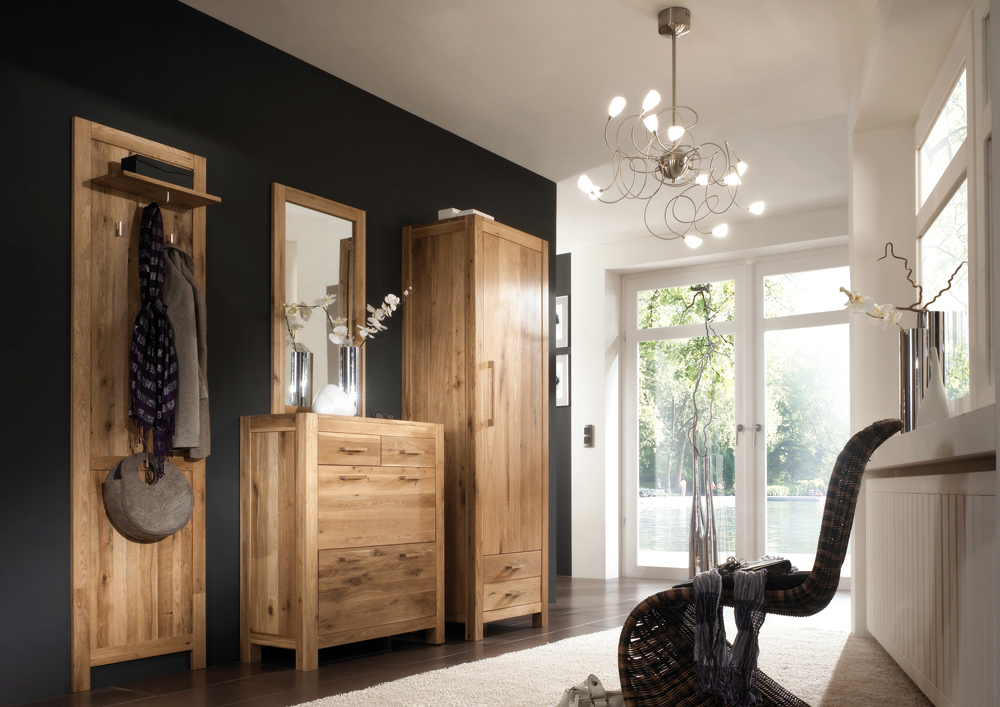 sitzbank casa in wildeiche massiv ge lt mit 2 schubladen. Black Bedroom Furniture Sets. Home Design Ideas