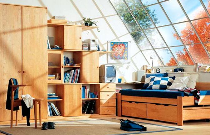 Jugendzimmer Mobile In Erle Massiv Geolt Von Team 7 Mobel Polt Mobelhaus