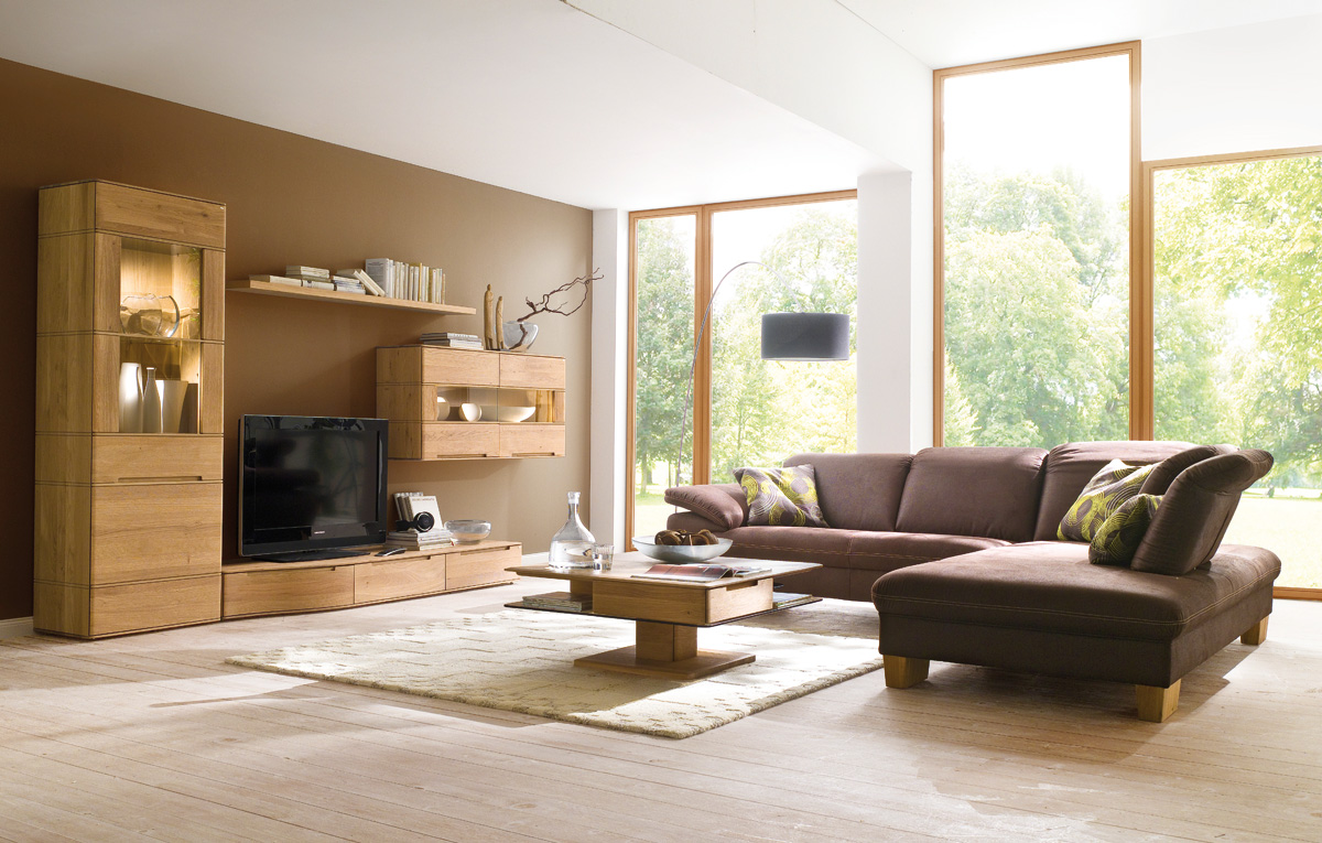 wohnwand v soft in wildeiche vollholz von voglauer m bel polt m belhaus. Black Bedroom Furniture Sets. Home Design Ideas
