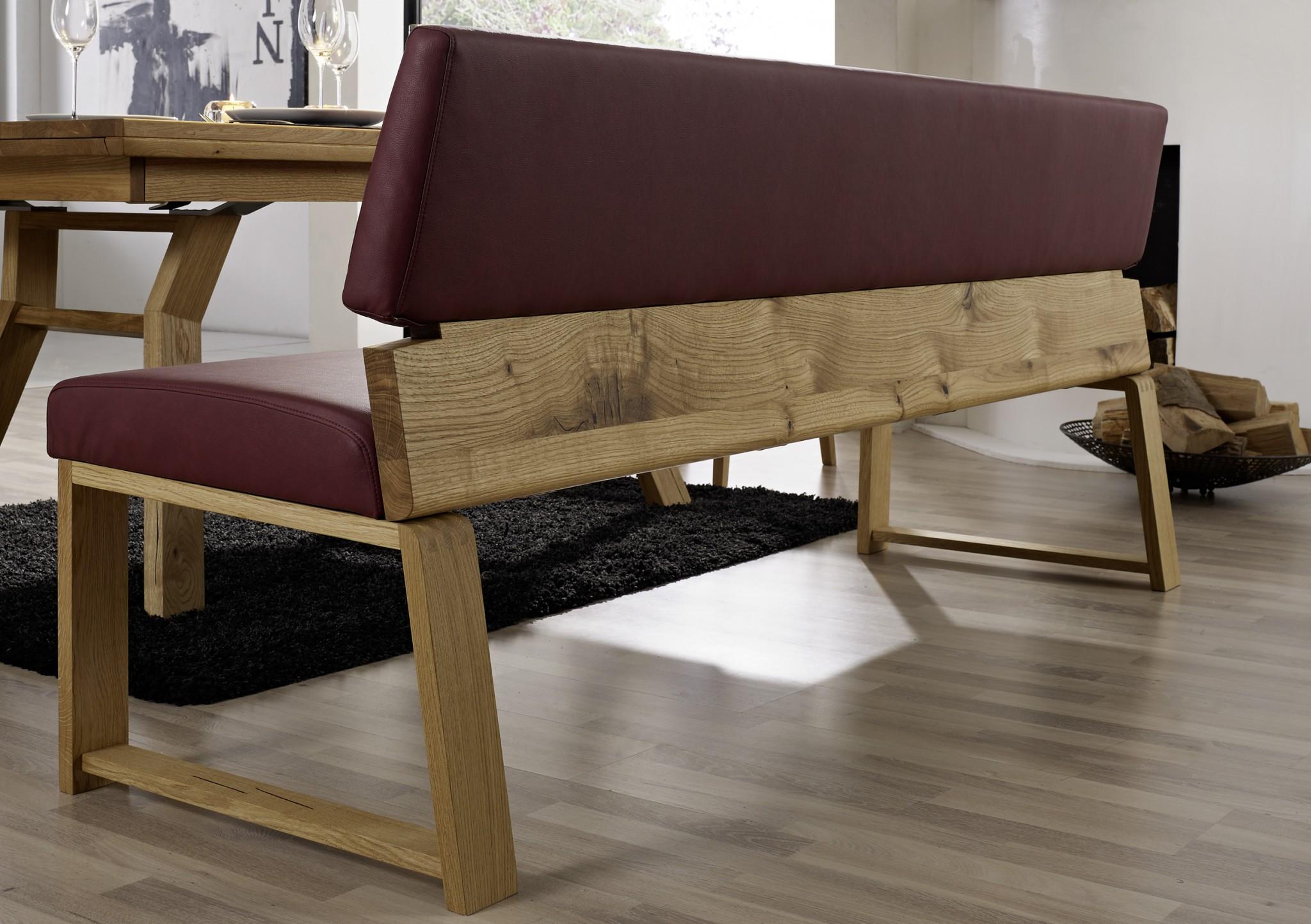 tischgruppe aurora mit einzelbank und massivholztisch ferrara m bel polt m belhaus. Black Bedroom Furniture Sets. Home Design Ideas