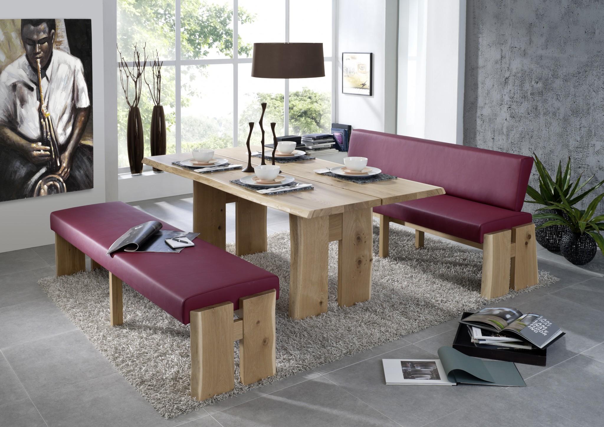 eckbankgruppe varese in kernbuche massivholz m bel polt. Black Bedroom Furniture Sets. Home Design Ideas