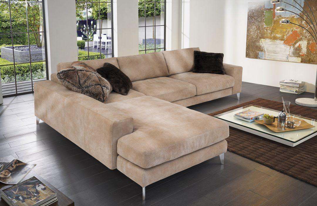 polstergarnitur aussee in stylischem bezug mit wildlederoptik m bel polt m belhaus. Black Bedroom Furniture Sets. Home Design Ideas