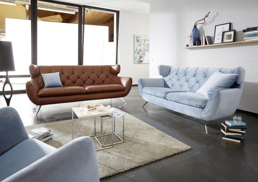 stylische sofas marc harris topline 1792 im stil der 60er jahre 998 m bel polt m belhaus. Black Bedroom Furniture Sets. Home Design Ideas