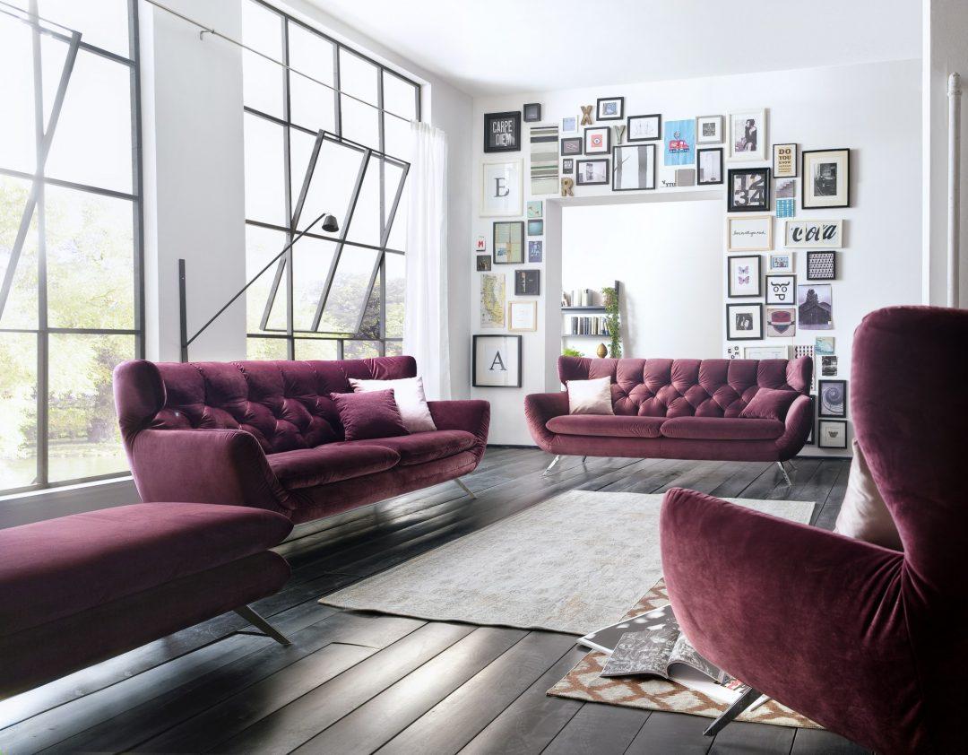 Stylische sofas marc harris topline 1792 im stil der 60er for Jugendzimmer 60er