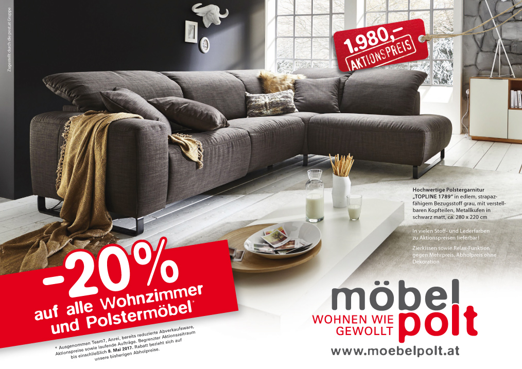 prospekt 20 auf alle wohnzimmer und polsterm bel m bel polt m belhaus. Black Bedroom Furniture Sets. Home Design Ideas
