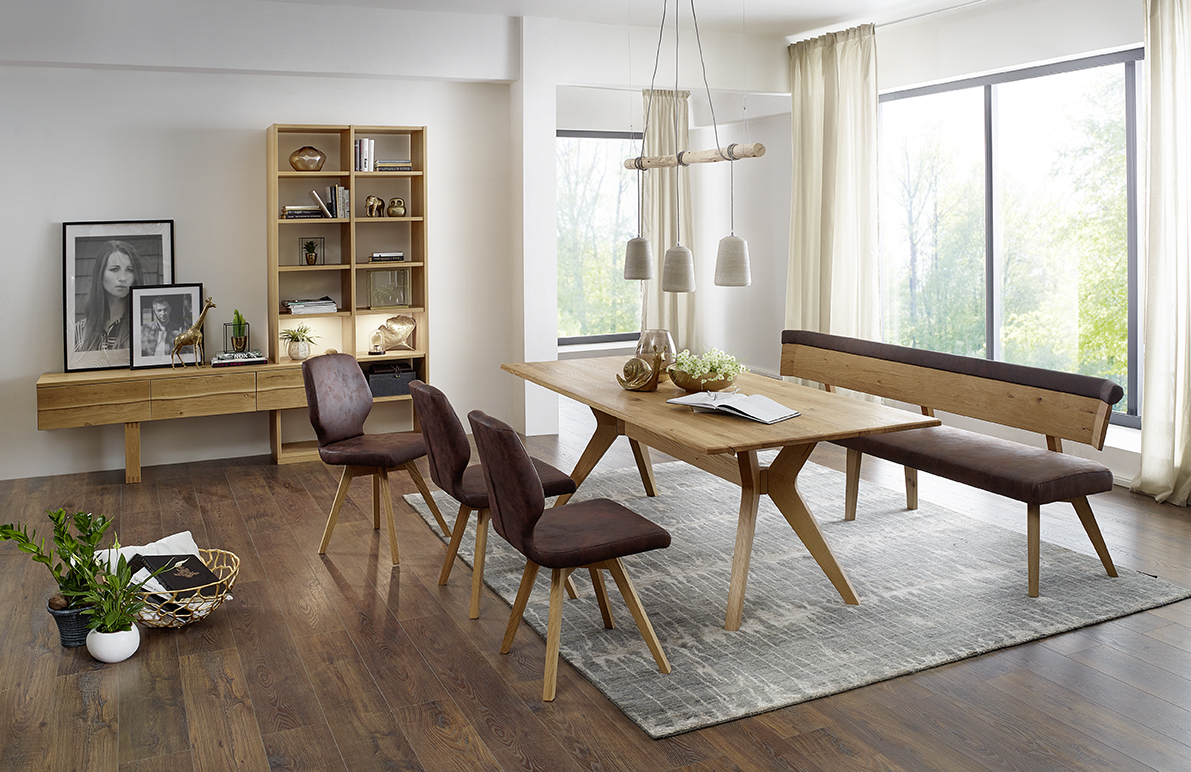 tischgruppe sinfonia 100 asteiche samt l m bel polt m belhaus. Black Bedroom Furniture Sets. Home Design Ideas