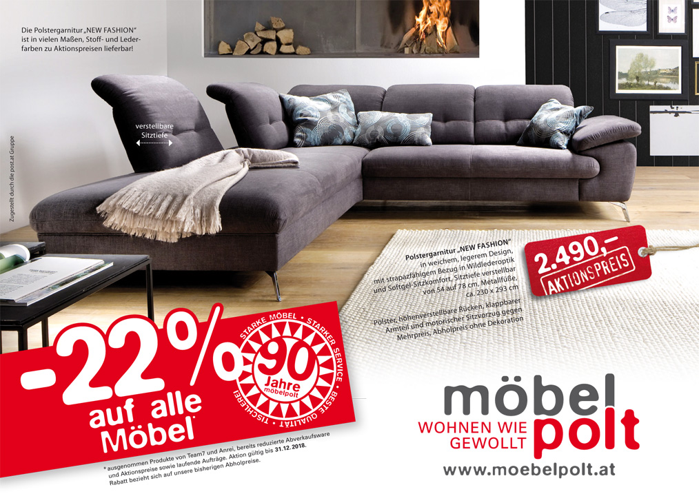 prospekt 90 jahre m bel polt 22 auf alle m bel. Black Bedroom Furniture Sets. Home Design Ideas