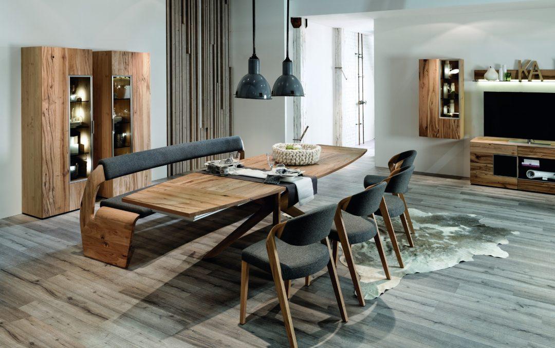 stuhl v alpin auf eiche altholz ge lt von voglauer mit. Black Bedroom Furniture Sets. Home Design Ideas