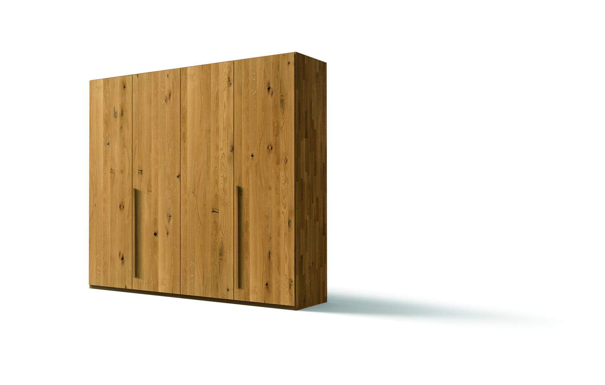 kleiderschrank soft von team 7 in eiche wild massiv ge lt 258 cm breit vorteilsedition. Black Bedroom Furniture Sets. Home Design Ideas