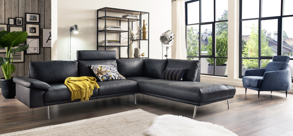 NEU Sofa MARC HARRIS in top modischem Lederlook ab € 959
